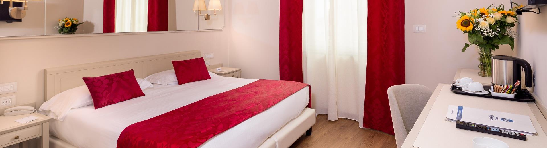 Comfort and services in the rooms of the BW Hotel Nazionale Sanremo