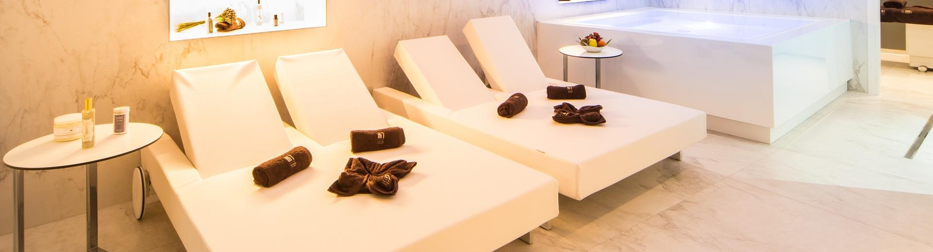 Check out the modern spa at Best Western Hotel Nazionale in the Centre of Sanremo