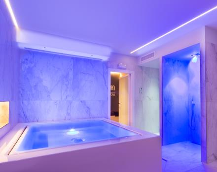 Modern and equipped spa in 4 star Best Western Hotel Nazionale Sanremo