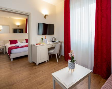 Stay in the center of Sanremo in our junior suites