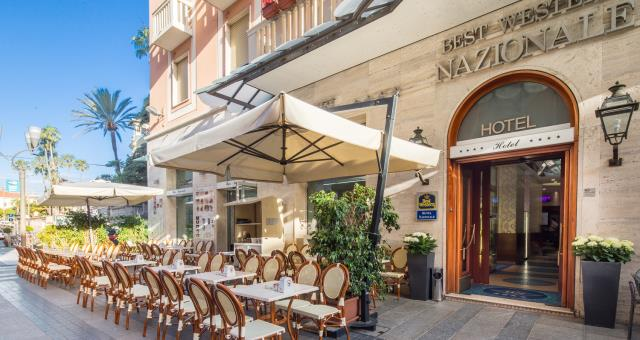 Welcome at the Best Western Hotel Nazionale Sanremo