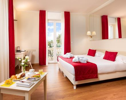 In Sanremo I''ll be waiting for comfortable rooms with services for the whole family