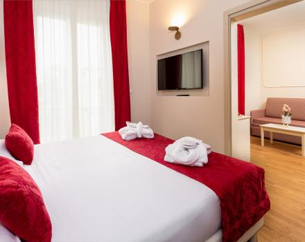 Convenience and services in the rooms of the BW Hotel Nazionale in Sanremo