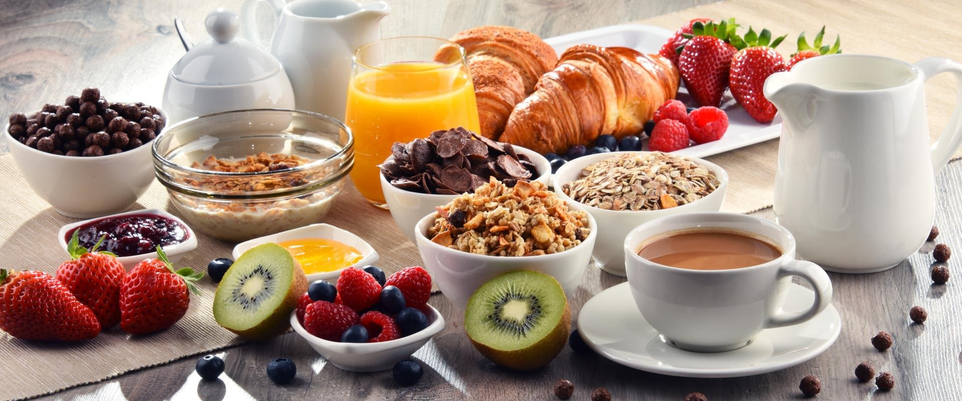 Free breakfast BWR members Platinum, Diamond and Diamond Select