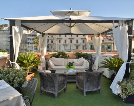 The true relaxation in Sanremo you can find it directly at the BEST WESTERN hotel Nazionale thanks to the rooftop terrace of the hotel!