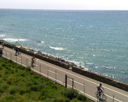The Ligurian coastal Park bikeway