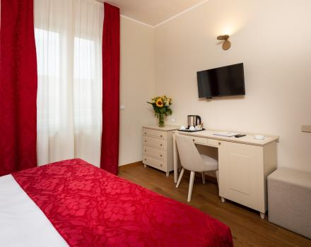 Discover the comforts of our hotel rooms in Sanremo