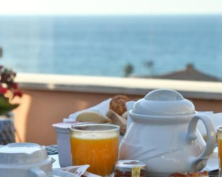 Start the day with a buffet breakfast at the BEST WESTERN Hotel Nazionale inside panoramic room!
