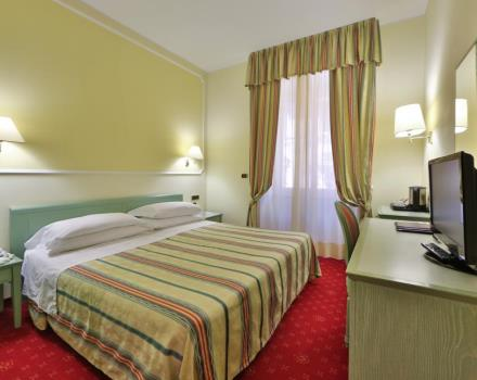 Discover the comfort and funzionlaità of the superior rooms of the BEST WESTERN Hotel Nazionale San Remo