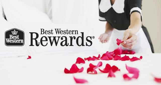 Special rate reserved to Members of Best Western Rewards Club!