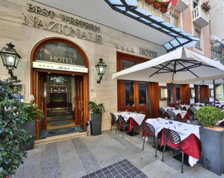 Book your exclusive stay in downtown Sanremo to BETS WESTERN Hotel Nazionale